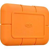 Lacie Rugged SSD 500GB, oranžový - Externí disk