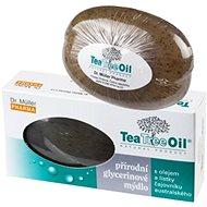 Dr.Müller Tea Tree Oil mýdlo s lístky čajovníku australského 100g - Tuhé mýdlo
