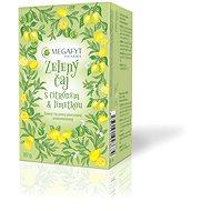 Megafyt  Zelený čaj s citrónem & limetkou 20x1,5g - Čaj