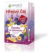 Megafyt Hřejivý čaj švestka se zázvorem 20x2,5g - Čaj