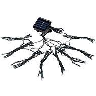 LED Solární řetěz 72xLED/1,2V pod slunečník IP44