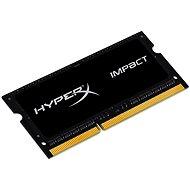HyperX SO-DIMM 4GB DDR3L 1600MHz Impact CL9 Dual Voltage Black Series - Operační paměť