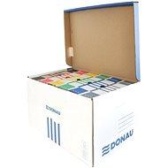 DONAU s vrchním otvíráním, modrý - Archivační krabice