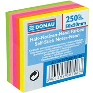 DONAU 50 x 50mm 50 x 5 colours - Sticky Notes