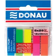 Samolepící štítky DONAU 12x45mm, 5x 25 štítků