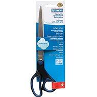 DONAU Soft Grip 25 cm modro-černé - Kancelářské nůžky