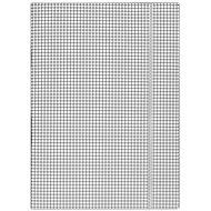 DONAU A4, bílé se čtverečky - Desky na dokumenty