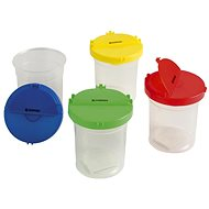 DONAU Water Bottle with Lid - Mix of Colours