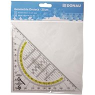 DONAU Triangle with 45/25cm, with Grip - Ruler