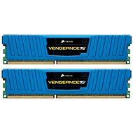 Corsair 8GB KIT DDR3 1600MHz CL9 Blue Vengeance Low profile - Operační paměť