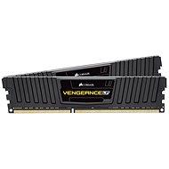 Corsair 8GB KIT DDR3 1600MHz CL9 Vengeance LP černá - Operační paměť