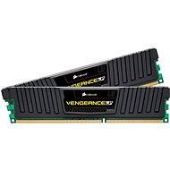 Corsair 16GB KIT DDR3 1600MHz CL9 Vengeance LP šedá - Operační paměť