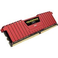 Corsair 8GB DDR4 2666MHz CL16 Vengeance LPX červená - Operační paměť