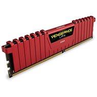 Corsair 8GB KIT DDR4 3000MHz CL15 Vengeance LPX červená - Operační paměť
