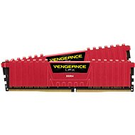 Corsair 16GB KIT DDR4 2133MHz CL13 Vengeance LPX červená - Operační paměť
