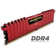 Corsair 16GB KIT DDR4 2400MHz CL16 Vengeance LPX červená - Operační paměť