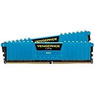 Corsair 16GB KIT DDR4 3000MHz CL15 Vengeance LPX modrá - Operační paměť