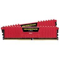 Corsair 16GB KIT DDR4 3000MHz CL15 Vengeance LPX červená - Operační paměť