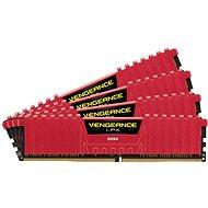 Corsair 32GB KIT DDR4 2666MHz CL16 Vengeance LPX červená - Operační paměť