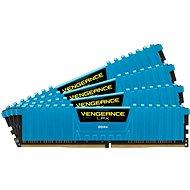 Corsair 32GB KIT DDR4 2666MHz CL16 Vengeance LPX modrá - Operační paměť