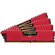 Corsair 32GB KIT DDR4 3000MHz CL15 Vengeance LPX červená - Operační paměť