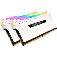 Corsair 16GB KIT DDR4 3600MHz CL18 Vengeance RGB PRO bílá - Operační paměť