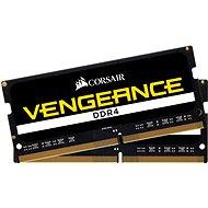 Corsair SO-DIMM 8GB KIT DDR4 2400MHz CL16 Vengeance černá - Operační paměť