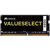 Corsair SO-DIMM 4GB KIT DDR4 2133MHz CL15 ValueSelect černá - Operační paměť