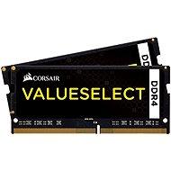 Corsair SO-DIMM 16GB KIT DDR4 2133MHz CL15 ValueSelect černá - Operační paměť
