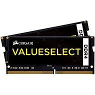 Corsair SO-DIMM 32GB KIT DDR4 2133MHz CL15 ValueSelect černá - Operační paměť