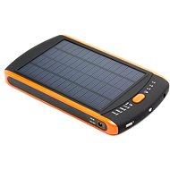 DOCA Powerbank Solar 23000mAh černá/oranžová - Powerbanka