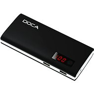 DOCA Powerbank 13000mAh QC black - Powerbank