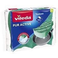 VILEDA Pur Active houbička střední 2 ks - Houba na mytí
