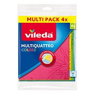 VILEDA Multiquattro Colors hadřík 4 ks - Hadřík