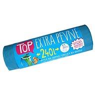 VIPOR LDPE Top Extra pevné 240 l, 10 ks, modrý - Pytle na odpad