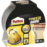 PATTEX Power Tape stříbrná, 5 cm × 25 m - Lepicí páska