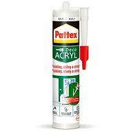 PATTEX Praskliny, stěny a stropy, bílý, pružný tmel 280 ml - Tmel