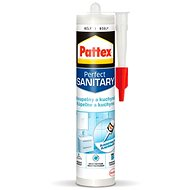 PATTEX Bathrooms and kitchens, white silicone 280 ml