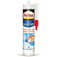 PATTEX Rychleschnoucí sanitární silikon, bílý 280 ml - Silikon