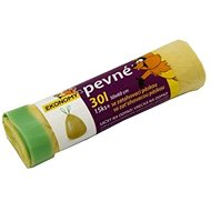 VIPOR HDPE se zatahovací páskou 30 l, 15 ks, žlutý - Pytle na odpad