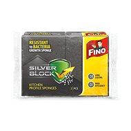 Houba na mytí FINO Silver houbička profilovaná 2 ks