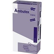 MATOPAT Ambulex vinylové nepudrovanével. S, 100 ks - Rukavice
