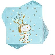 BUTLERS Peanuts Papírové ubrousky Snoopy Frosty 20 ks - Papírové ubrousky