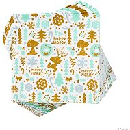 BUTLERS Peanuts Papírové ubrousky Snoopy Happy Merry 20 ks - Papírové ubrousky