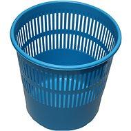 HOMEPOINT  Koš na odpad děrovaný modrý - Odpadkový koš