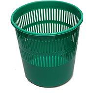 HOMEPOINT  Koš na odpad děrovaný zelený - Odpadkový koš