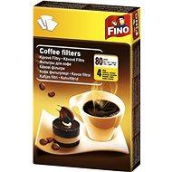 FINO Kávové filtry 4/80 ks - Filtr na kávu