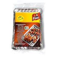 FINO Grilovací tácky 4ks, 35cm × 23cm - Grilovací sada