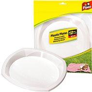 FINO Plastové talíře 12 ks - Outdoorové nádobí