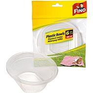 FINO Plastové misky 250 ml,  6 ks - Outdoorové nádobí